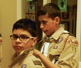 New Troop 71 Scout